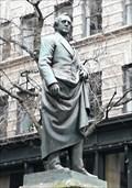 Image for Statue of Josiah Quincy III - Satellite Oddity - Boston, Massachusetts, USA.