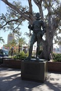 Image for Statue of King Carlos III -- Los Angeles CA