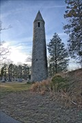 Image for Irish Round Tower Replica - Milford MA