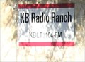 "Image for ""KB Radio Ranch, KBLT 104 FM"" -- Leakey TX USA"