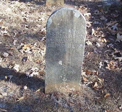 Spenser and Mary Elizabeth Patterson - Woosley Cemetery ...