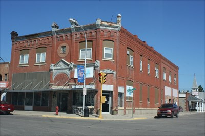 First National Bank Mayville Nd U S Register Of Historic Places On Waymarking