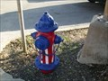 Image for Patriotic Fire Hydrant - Lampasas, TX