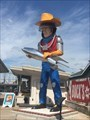 Image for Buck Atom Space Cowboy Muffler Man on 66