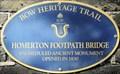 Image for Homerton Footpath Bridge - Parnell Road, London, UK