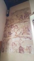 Image for St Catherine Mural - St Kyneburgha - Castor, Cambridgeshire