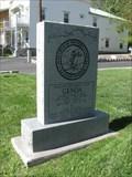 Image for Genova Pony Express stone memorial - Genoa, NV