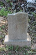 Image for OLDEST Marked Grave in Allen Cemetery - Murchison, TX