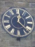 Image for St Mary's Church Clock - Astbury, Cheshire, UK.
