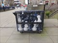 Image for Giant Chess Board Outside Central Library and Art Gallery - Huddersfield, UK