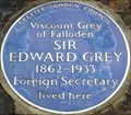 Image for Sir Edward Grey - Queen Anne's Gate, London, UK