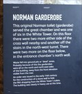Image for Norman Garderobe -- White Tower, Tower of London, Tower Hamlets, London, UK