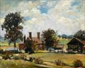 "Image for ""Walnut Tree Farm, Pirton"" by Agnes Core Haggo – Below Toot Hill, Pirton, Herts, UK"