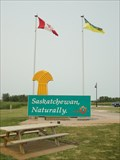 Image for Manitoba  / Saskatchewan Border -    TransCanada Highway 1 (Saskatchewan) Canada