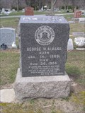 Image for George W. Alband - Clinton Grove Cemetery, Mt. Clemens, MI.