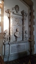Image for Sir Samuel Thorold monument - All Saints - Harmston, Lincolnshire