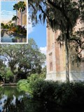 Image for Bok Tower Moat, Bok Tower Gardens - Lake Wales, FL