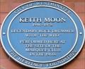 Image for Keith Moon Blue Plaque - Wardour Street, London, UK