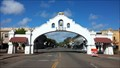 Image for OLDEST -- Freestanding Welcome Arch in the U.S. - Lodi Mission Arch - Lodi, CA