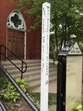 Image for St. James United Church Peace Pole - Simcoe, ON
