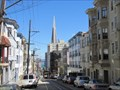 "Image for Mason Street View of Transamerica Building - ""Sunday Strip"" - San Francisco, CA"