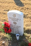 Image for SGT Santiago J. Erevia, US Army -- Fort Sam Houston National Cemetery, San Antonio TX