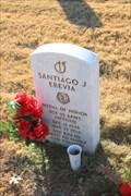 Image for SGT Santiago J. Erevia, US Army -- Fort Sam Houston National Cemetery, San Antonio TX