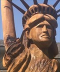 Image for Wooden Statue of Liberty - Moore, OK