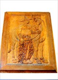 Image for Post Office western bas reliefs - Salinas, California
