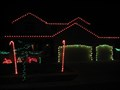 Image for Red and Green Candycane House