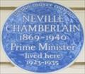 Image for Neville Chamberlain - Eaton Square, London, UK