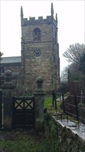 Image for St.Peter's Church Tower, Church Lane, Alstonefield, Derbyshire.