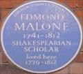 Image for Edmond Malone - Langham Street, London, UK