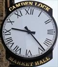 Image for Camden Lock Market Hall Clock - Chalk Farm Road, London, UK