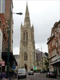 Image for Church Steeple - St Peter's - Bournemouth, Dorset, UK.