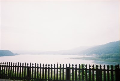 Lake George extends below, Lake Champlain