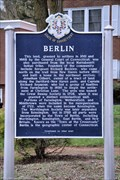 Image for Berlin Historical Marker
