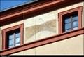 Image for Southern Sundial in Jesuit House for Professed / Jizni slunecní hodiny na nádvorí Jesuitského profesního domu - Malostranske namesti (Prague)