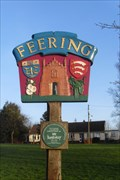 Image for Feering Village Sign, Coggeshall Road, Feering, Colchester, Essex.