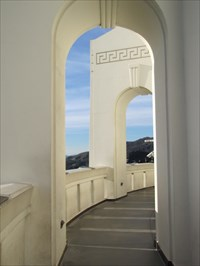 Arches in Back, Griffith Observatory, Los Angeles, CA