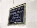 Image for Birthplace of Samuel Pepys, London, UK