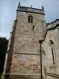 Image for The Parish Church of All Saints Church Tower - Sudbury, Ashbourne, Derbyshire, England, UK.