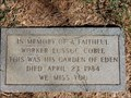 Image for Lussuc Coble - Shiloh Cemetery (on Shilo Rd.), Atascosa County, TX
