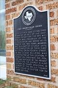 Image for First Presbyterian Church of Crockett
