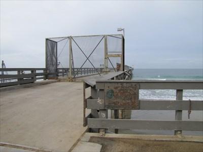 Pier Gate and Sign, La Jolla, CA