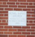 Image for 1955 - Bethel Baptist Church  - Townsend, TN
