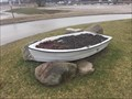 Image for Port Burwell Beach Boat Planter - Port Burwell, ON