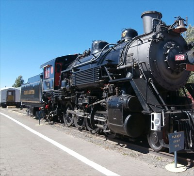 Grand Canyon Railway Depot Locomotive - Williams
