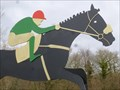 Image for Ffos Las - Race Horse - Trimsaran, Wales. Great Britain.