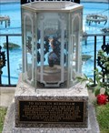 Image for Elvis Presley's - Eternal Flame Memorial - Memphis, Tennessee, USA.